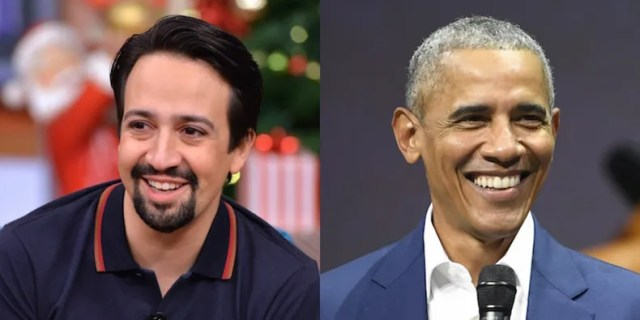 Image result for Barack Obama featured on 'Hamilton' song remix