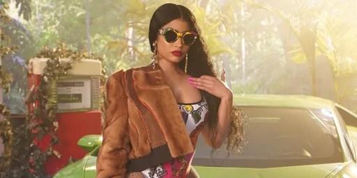 """Nicki Minaj in """"Megatron"""" art"""