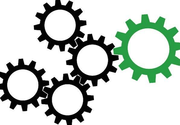 Image result for cog on a wheel