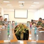 Armenia army chief, U.S. Defense Attaché discuss army reform, Karabakh