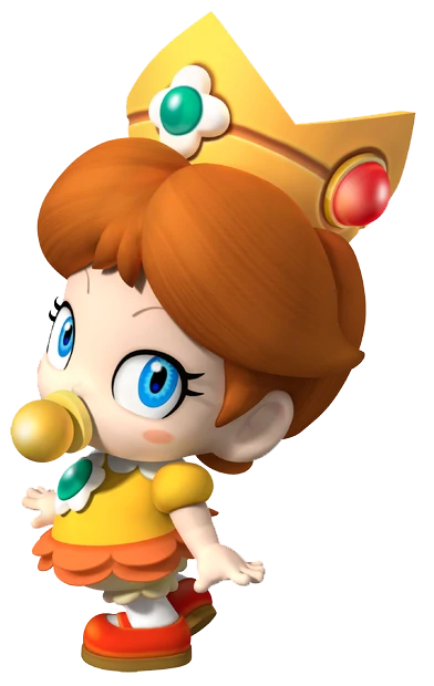 Mario Kart Tour characters Baby Daisy