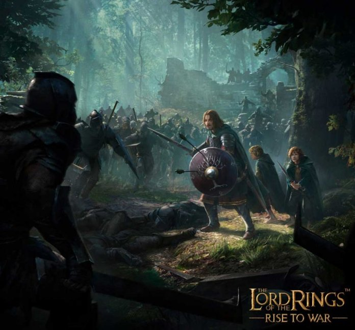 The Lord of the Rings Rise to War iOS Android Artwork Borromirs last stand jpg 820 asiafirstnews