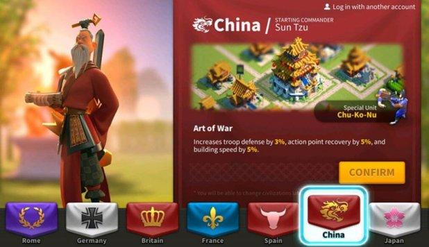 best civilizations - China