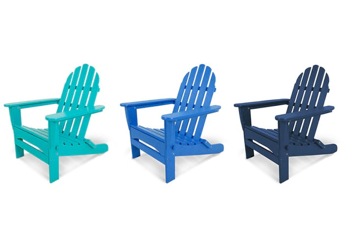 colorful adirondack chairs polywood