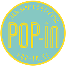 Pop-in logo for web