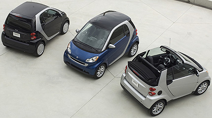The Fortwo vehicle.