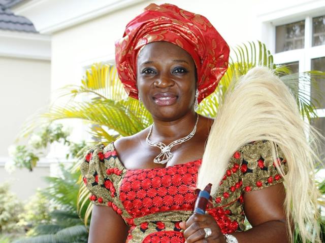 The senator representing Anambra Central Senatorial District, Uche Ekwunife