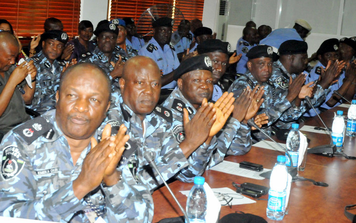 DECORATION OF PROMOTED POLICE OFFICERS IN ABUJA