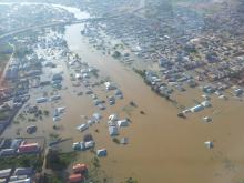 Aerial view of flooded lokoja city3