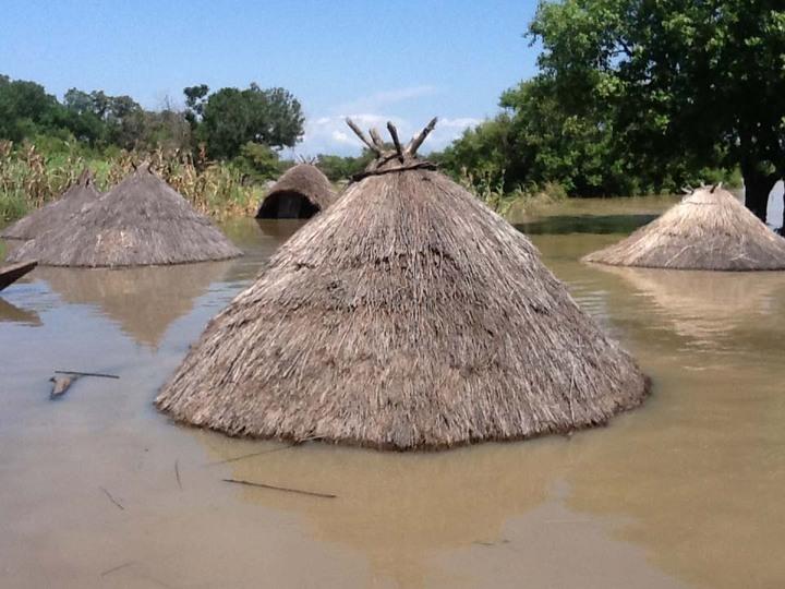 FLOODED FALLUJA VILLAGE IN TARABA
