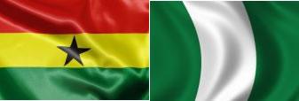 ghana-nigeria-flags