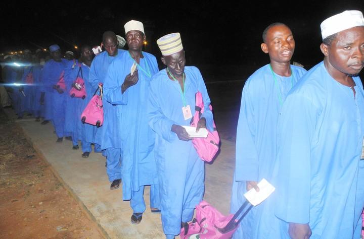 First batch of Adamawa pilgrims arrive Yola - Premium Times