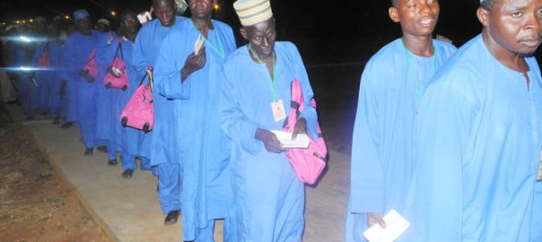 MUSLIM PILGRIMS FROM GOMBE STATE