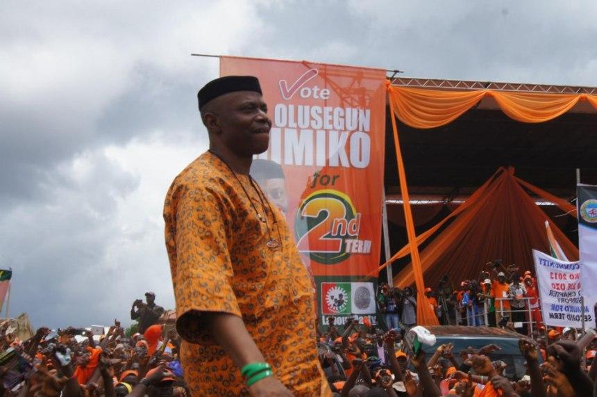 Governor Olusegun Mimiko