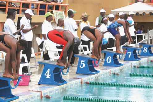 nigerian swimmers
