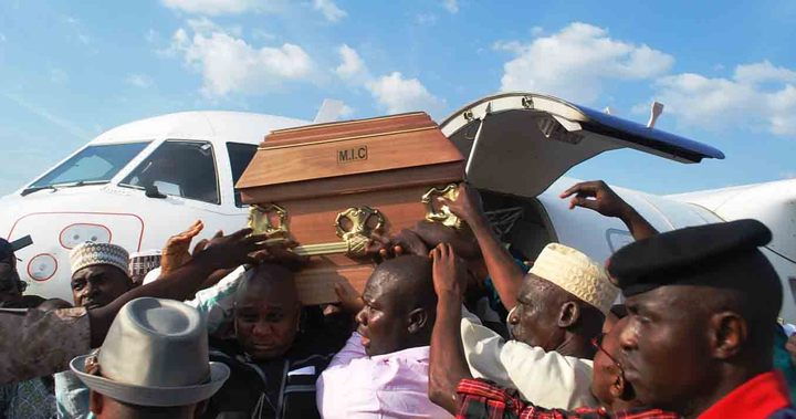 BURIAL OF DR OLUSOLA SARAKI IN ILORIN