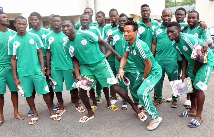 HOME BASED SUPER EAGLES IN ABUJA