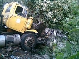 Otedola area crash scene, Lagos 15-11-12