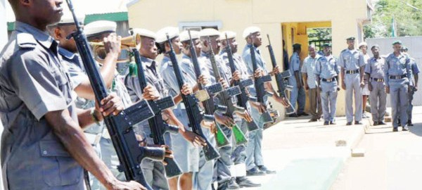 customs officers
