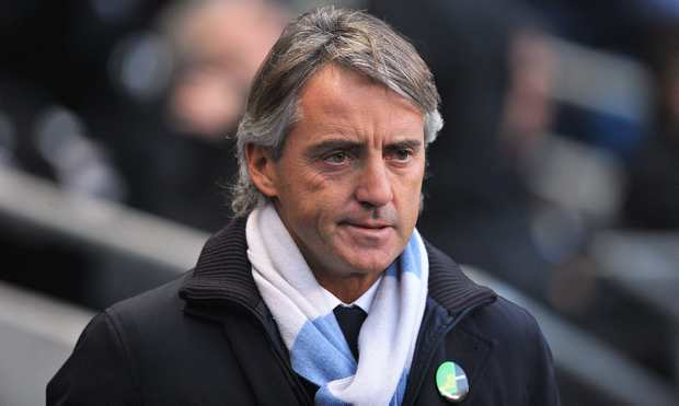 Coach Roberto Mancini Photo: Courtesy menmedia.co.uk via google