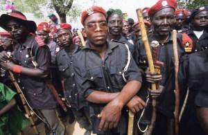 Vigilante group in Nigeria