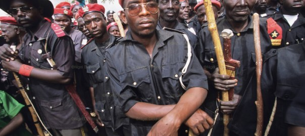 Vigilante group in Nigeria