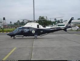 The crashed chopper