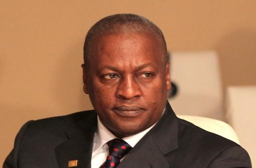 John Dramani Mahama.