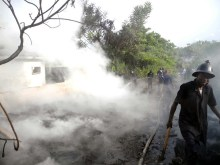 Fire at Ogun secretariat