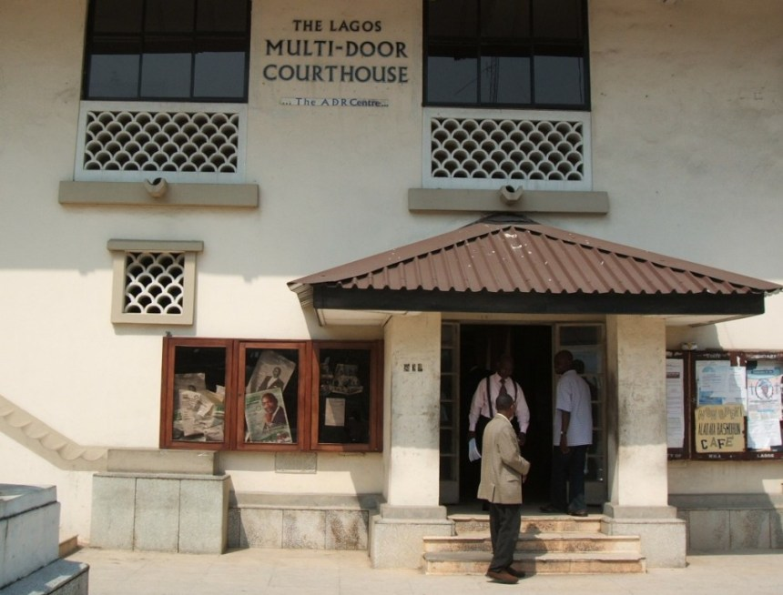 Lagos multidoor courthous