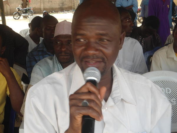 The state security service arrested Musa Muhammad Awwal (pictured above) for the second time in less than a month