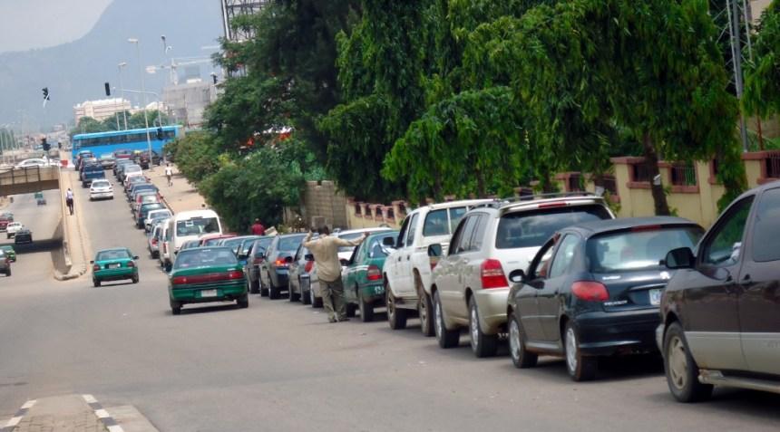 Image result for fuel queue
