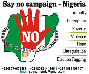 Image result for say no to corruption in nigeria