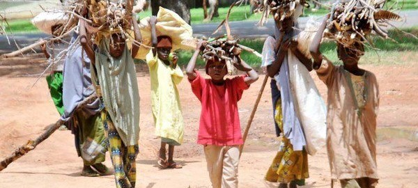 FILE: Children running errands during school hours in Northern Nigeria