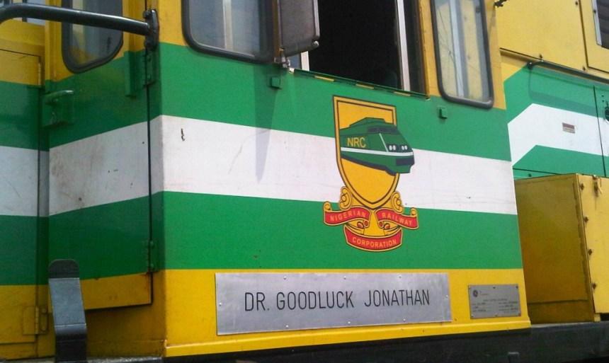 Goodluck Jonathan train