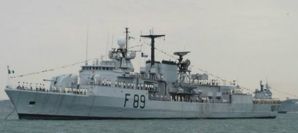 Nigerian navy ship