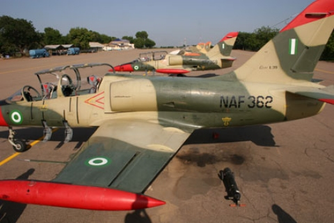 Nigerian Air Force Plane