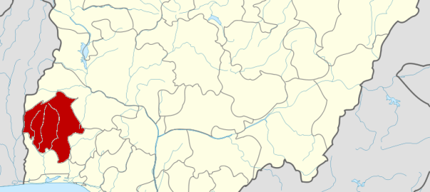 Oyo State map