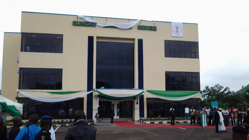 Nigeria Football Federation Glass House