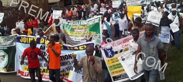 NANS Protest