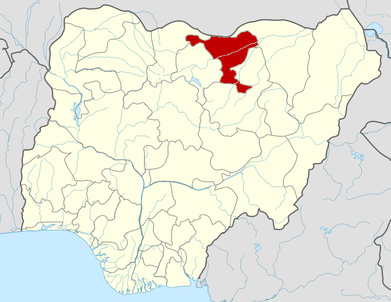 Jigawa on map