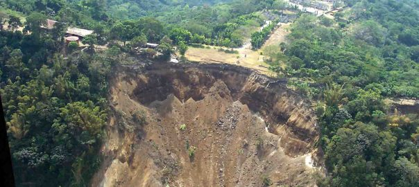 Landslide used to tell the story.