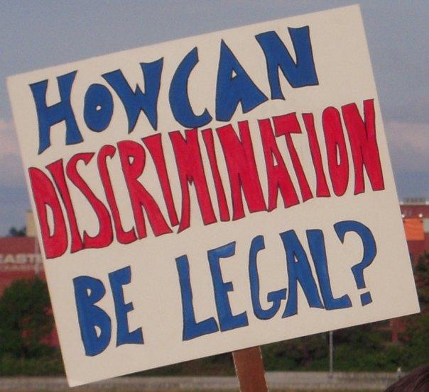 gay rights sign