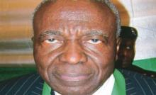 Chairman of the National Conference: Former Chief Justice of Nigeria, Idris Kutigi .... Photo: Courtesy www.nigeriaa2z.com