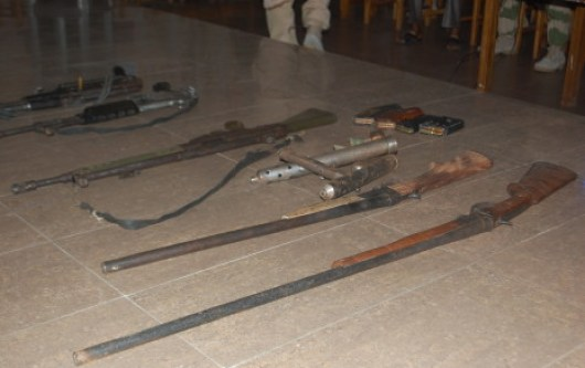 Arms recovered in Wukari