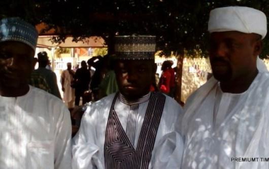 Grooms at the Kaduna mass wedding