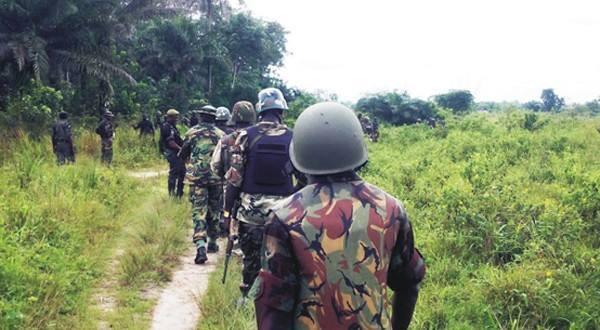 Nigerian army search missing Chibok school girls