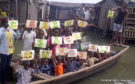 Bring Back Our Girls, from Makoko