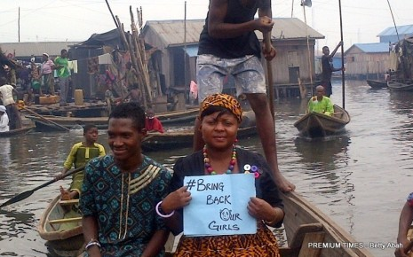 Betty Abah is one of hundreds of Nigerians at the forefront of the campaign for the rescue of the Chibok girls.