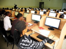 STUDENTS WRITING THE NECO EXAMS
